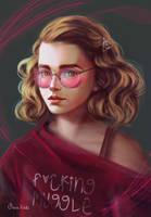 Hermione Granger by Maria-Hideki