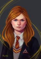 Ginny Weasley by Maria-Hideki