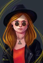 Ginny Weasley2 by Maria-Hideki