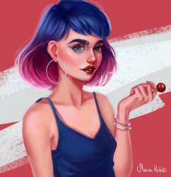 lollipop by Maria-Hideki