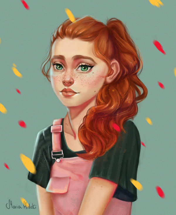ginger by Maria-Hideki