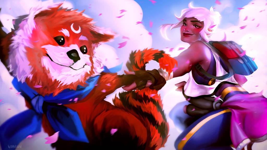 Artemisia and Bunbun!  by WANDAKUN
