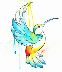 Hummingbird by Kiyomee