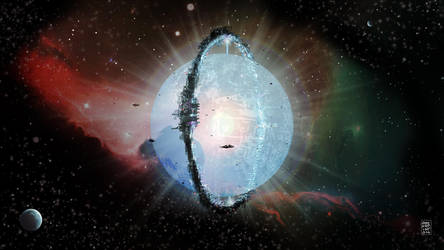 Dyson Sphere for the SSPFT group by mozggies