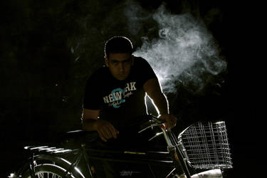 the cyclist by Makroum