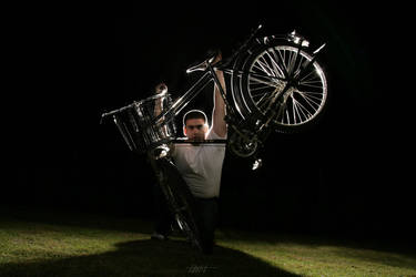the cyclist...the winner by Makroum