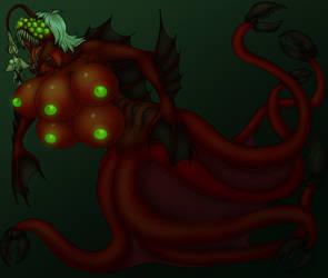 Elysian, the Sanguine Ascended - True Form by Entropy-Zeta
