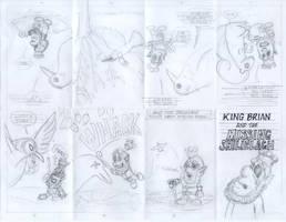 King Brian - pencils by tedbergeron