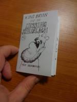 King Brian micro comic book by tedbergeron