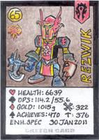 Artist Gaming Card by tedbergeron