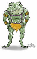 Teeny Tiny Toad second concept by tedbergeron