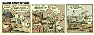 Talk Like A Pirate Day - colors by tedbergeron