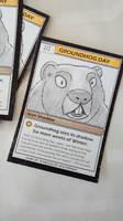 Groundhog Day 2016 Souvenir Trading Card by tedbergeron