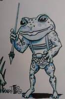 Teeny Tiny Toads by tedbergeron