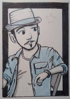 Trading Card : Neil by tedbergeron