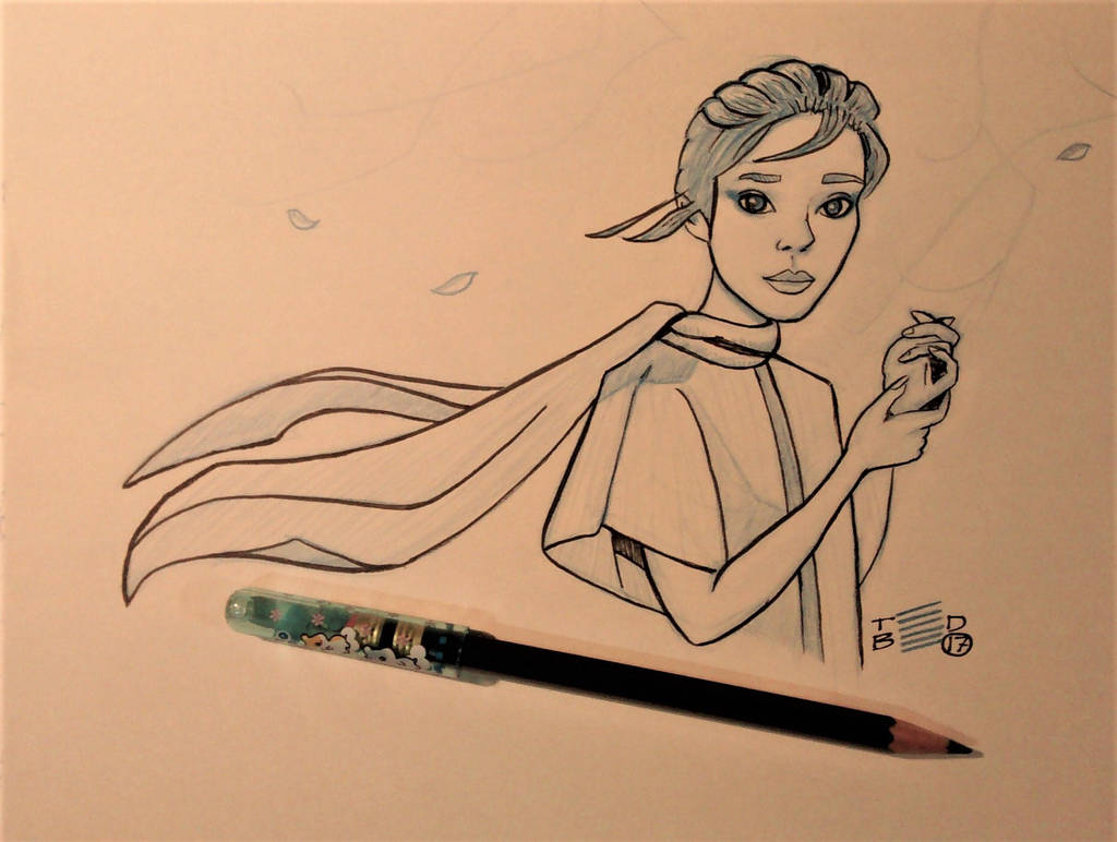Dynamic sketch by tedbergeron