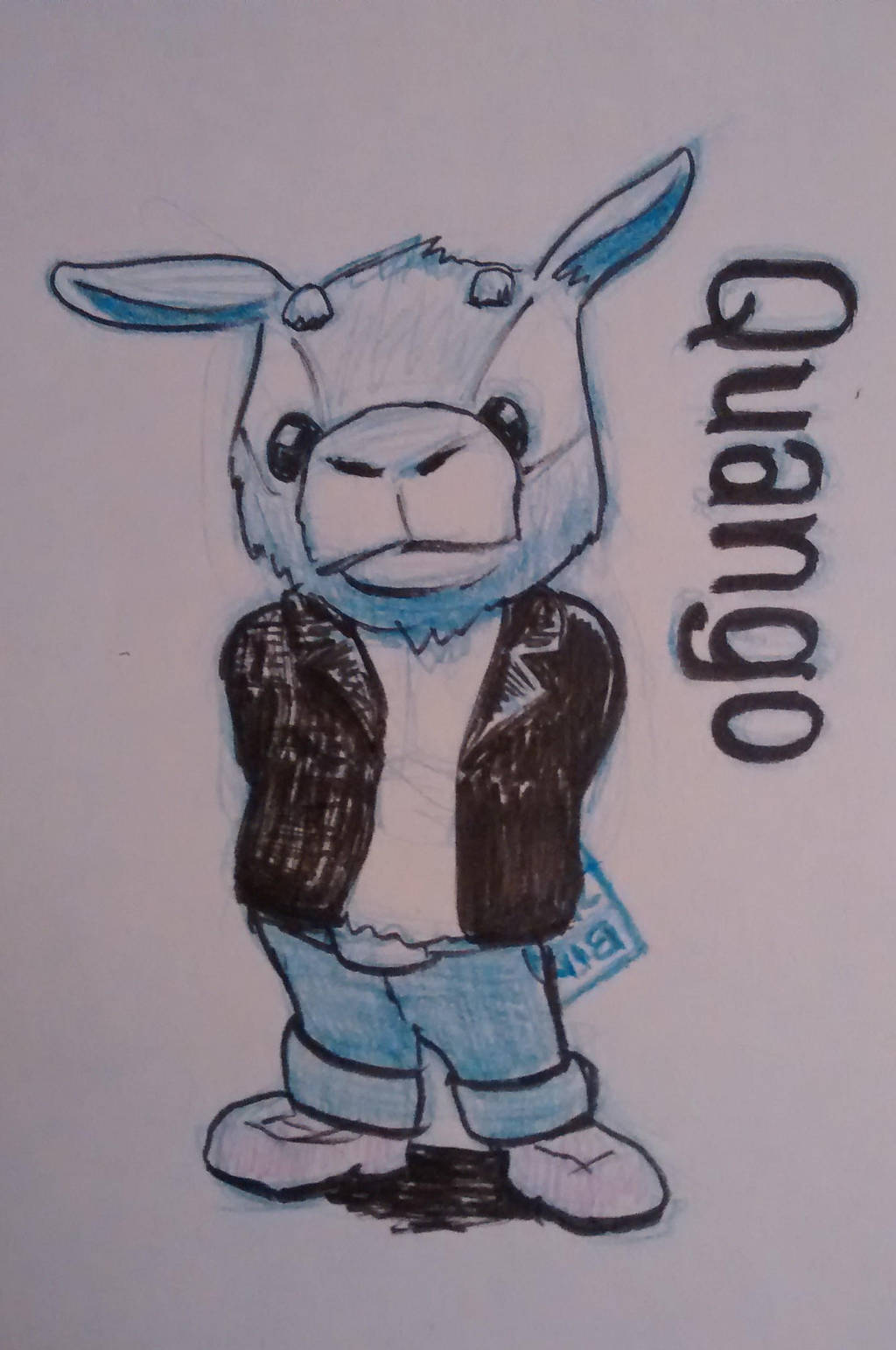 Quango new character sketch idea by tedbergeron