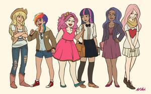 Magic and friendship! by Niliz