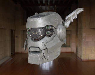 Appleseed Alpha Briareos Head by throttlekitty