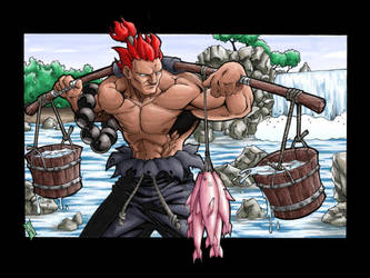 Everyday Akuma by hybridav