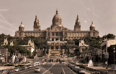 A Museum in Barcelona by AtomicBrownie