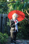 Yashiro - Afternoon in the Yard by AtomicBrownie