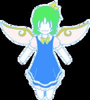 TC Maya Blue: Daiyousei by Hanging-Hourai