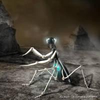 Mechanic Mantis by yoguy108