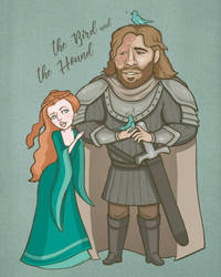The bird and the Hound by SARTrottenpeach