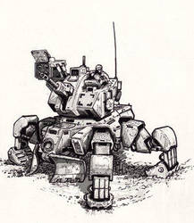 mech by M Houghton by TheArtWorkGroup