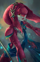 Zelda BotW - Mipha by 8akina