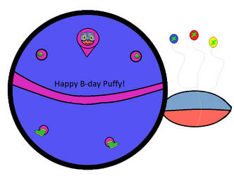Puffed up Puffy (rq/gift) by IceandFireGuy