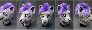 HuanLang head (complete) by FarukuCostumes
