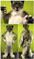 Cosmo Snowleopard (fullsuit) by FarukuCostumes