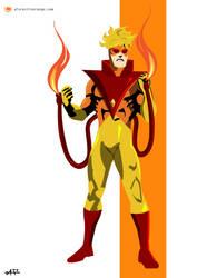 Pyro (X-Men) by FeydRautha81