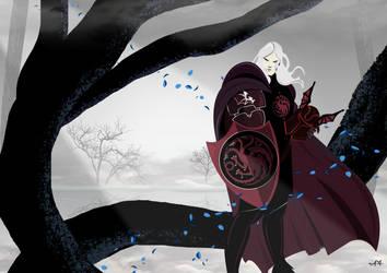 Rhaegar Targaryen by FeydRautha81