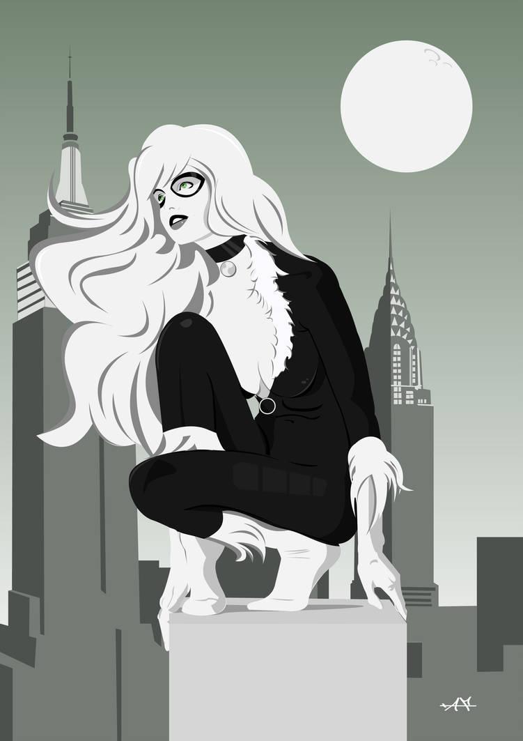 Black Cat by FeydRautha81