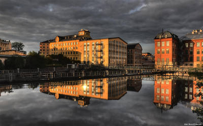 Industrial Norrkoping by 9Anubis9