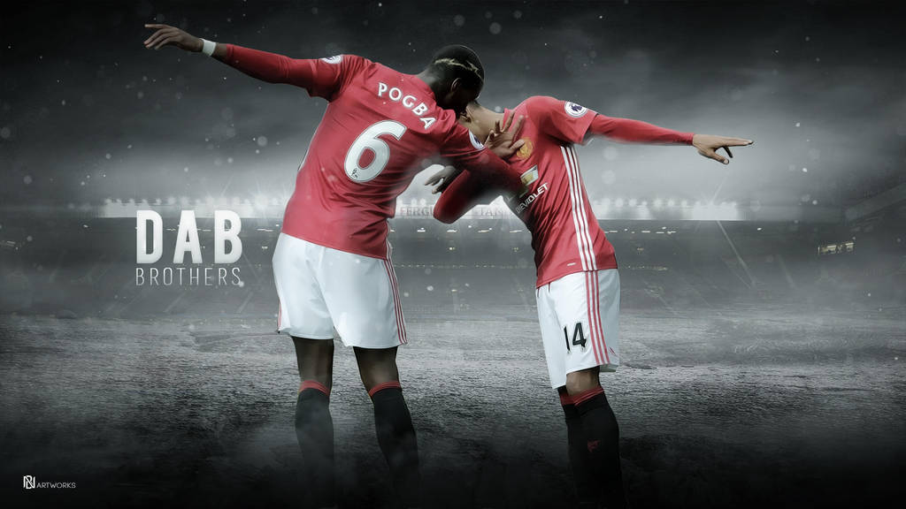 The Dab Brothers: Paul Pogba And Jessie Lingard By