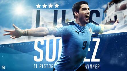 Luis Suarez - El Pistoro by nirmalyabasu5
