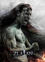 Zlatan - The god of Manchester by nirmalyabasu5