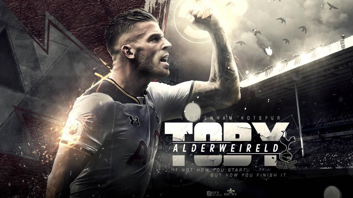 Toby Alderweireld Wallpaper (feat Fletcher39) By