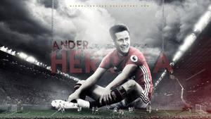 Ander Herrera : Artist at the Theatre of Dreams by nirmalyabasu5