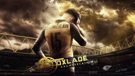 Oxlade Chamberlain Wallpaper feat. Marwan Akel by nirmalyabasu5