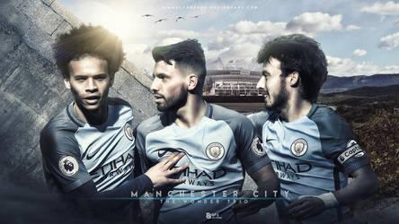 Manchester City Wallpaper by nirmalyabasu5