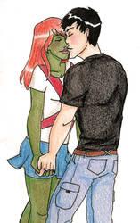 Con and Meg by superhoneybear