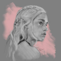 mother of dragons by tiagoexp1