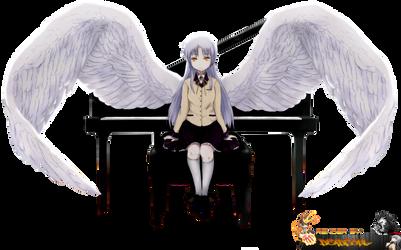 Angel Beats kanade Render by LordRender