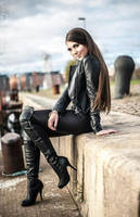 Leather Girl by AndPereira69