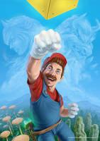 New Super Mario Bros by Aioras